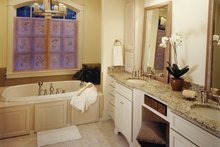 European Interior - Master Bathroom Plan #929-899