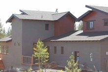 Architectural House Design - Contemporary Exterior - Rear Elevation Plan #895-66