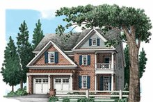 House Plan Design - Traditional Exterior - Front Elevation Plan #927-537