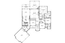 Ranch Floor Plan - Main Floor Plan Plan #437-71