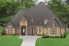 Dream House Plan - European Exterior - Front Elevation Plan #84-602