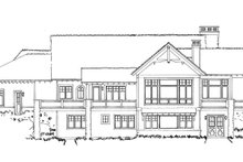 Ranch Exterior - Rear Elevation Plan #942-32