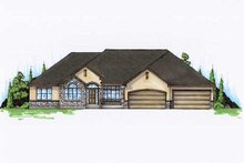 House Plan Design - Traditional Exterior - Front Elevation Plan #5-328