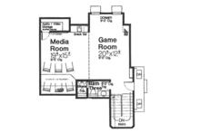 European Floor Plan - Other Floor Plan Plan #310-1267