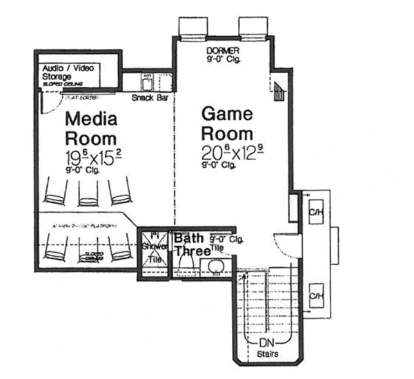 European Floor Plan - Other Floor Plan Plan #310-1267