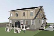 Craftsman Style House Plan - 3 Beds 3 Baths 1567 Sq/Ft Plan #79-249