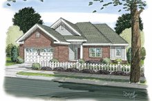 Traditional Exterior - Front Elevation Plan #513-2103