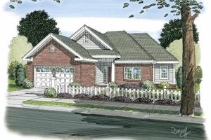House Design - Traditional Exterior - Front Elevation Plan #513-2103