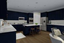 Traditional Interior - Kitchen Plan #1060-67