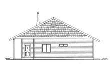 House Plan Design - Cabin Exterior - Other Elevation Plan #117-857