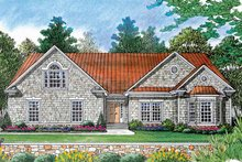 House Plan Design - Ranch Exterior - Front Elevation Plan #453-386