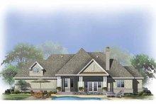 Craftsman Exterior - Rear Elevation Plan #929-803