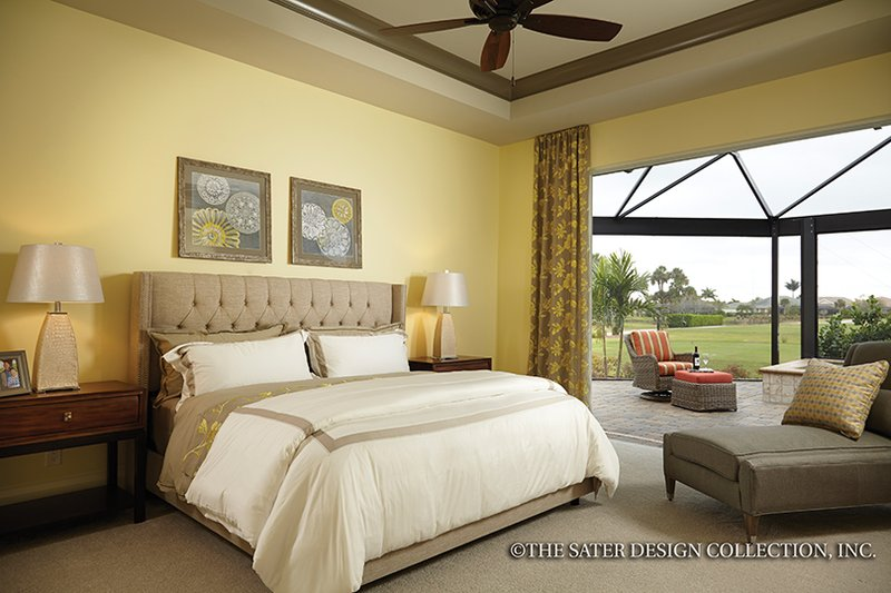 Mediterranean Interior - Master Bedroom Plan #930-456 - Houseplans.com