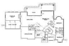European Floor Plan - Lower Floor Plan Plan #5-459