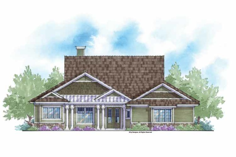 Country Exterior - Front Elevation Plan #938-46 - Houseplans.com