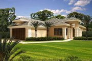 Mediterranean Style House Plan - 3 Beds 2 Baths 2087 Sq/Ft Plan #420-262