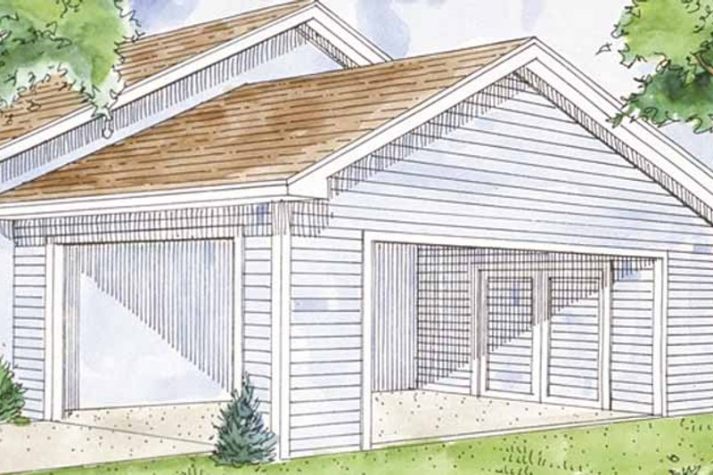 Exterior - Front Elevation Plan #410-3604