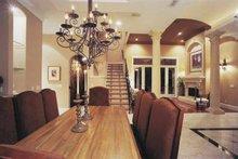 Home Plan - Mediterranean Interior - Dining Room Plan #1039-3