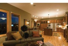 Prairie Interior - Family Room Plan #51-1126