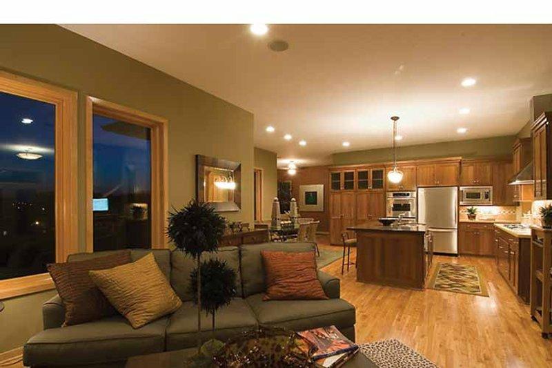 Prairie Interior - Family Room Plan #51-1126 - Houseplans.com