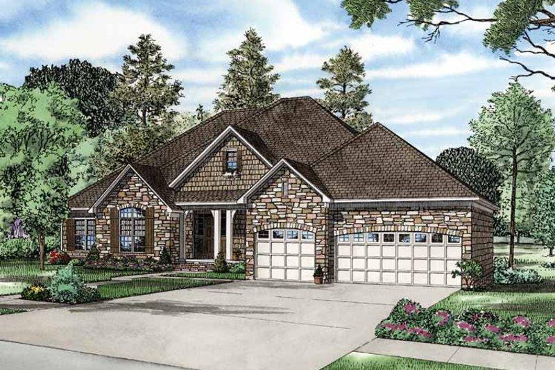 House Plan Design - Contemporary Exterior - Front Elevation Plan #17-2763