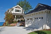 Craftsman Style House Plan - 4 Beds 2.5 Baths 2772 Sq/Ft Plan #928-272 Exterior - Front Elevation