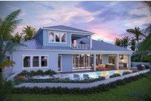 House Plan Design - Ranch Exterior - Rear Elevation Plan #938-112