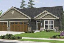 Craftsman Exterior - Front Elevation Plan #943-3