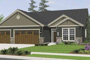 Home Plan - Craftsman Exterior - Front Elevation Plan #943-3