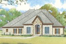 House Plan Design - European Exterior - Front Elevation Plan #17-3412