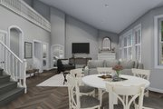 Traditional Style House Plan - 3 Beds 2.5 Baths 1999 Sq/Ft Plan #1060-46 Interior - Family Room