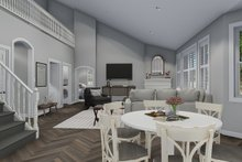 Traditional Interior - Family Room Plan #1060-46