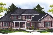 Dream House Plan - Traditional Exterior - Front Elevation Plan #70-846