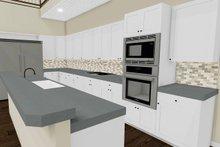 Country Interior - Kitchen Plan #923-97