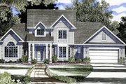 Country Style House Plan - 5 Beds 2.5 Baths 2459 Sq/Ft Plan #316-103 Exterior - Front Elevation