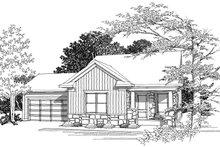 House Plan Design - Ranch Photo Plan #70-1018