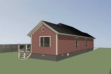 Dream House Plan - Traditional Exterior - Other Elevation Plan #79-149