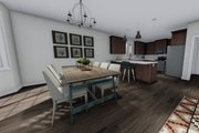 Ranch Style House Plan - 3 Beds 2 Baths 1709 Sq/Ft Plan #1060-41 Interior - Bathroom