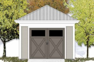 Exterior - Front Elevation Plan #306-124