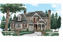 House Design - Country Exterior - Front Elevation Plan #927-937