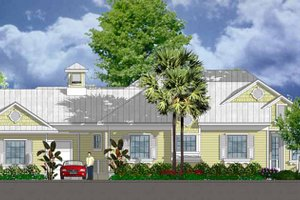 House Design - Country Exterior - Front Elevation Plan #1007-54