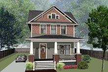 Dream House Plan - Craftsman Exterior - Front Elevation Plan #79-317