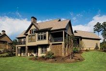 Dream House Plan - European Exterior - Rear Elevation Plan #929-891