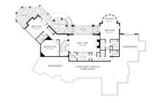 European Floor Plan - Lower Floor Plan Plan #929-895
