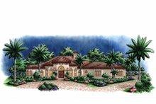 Home Plan - Mediterranean Exterior - Front Elevation Plan #1017-121