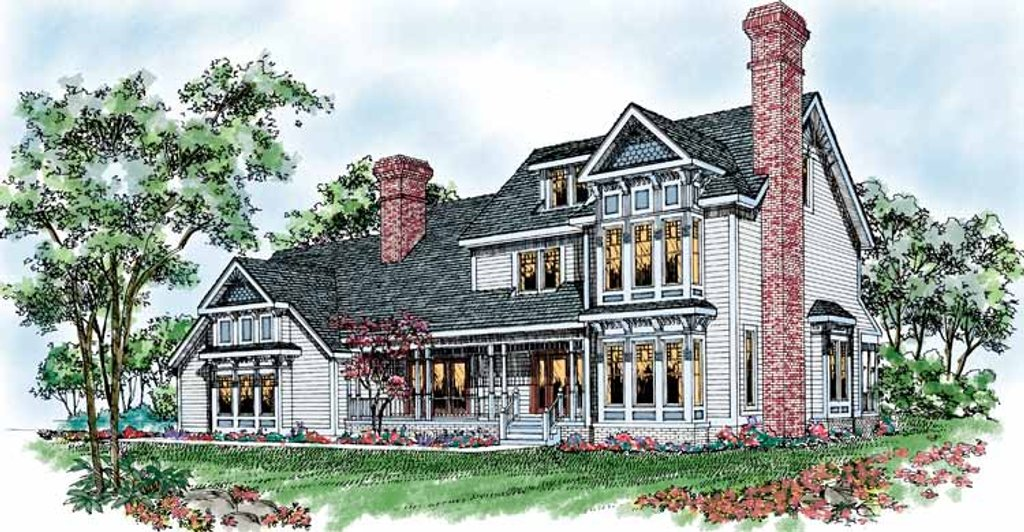 porch house plans style house plan 4 beds 3 5 baths 3264 sq ft 14598