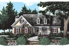 Home Plan - Country Exterior - Front Elevation Plan #927-377