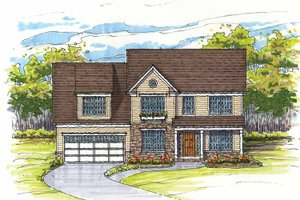 Traditional Exterior - Front Elevation Plan #435-11
