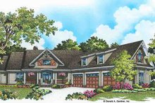 House Plan Design - Craftsman Exterior - Front Elevation Plan #929-974
