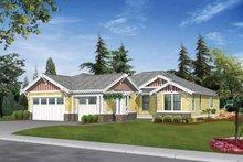 Craftsman Exterior - Front Elevation Plan #132-337